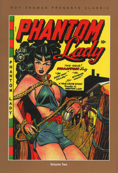 Cover for Roy Thomas Presents Classic Phantom Lady Softee (PS, 2013 series) #2