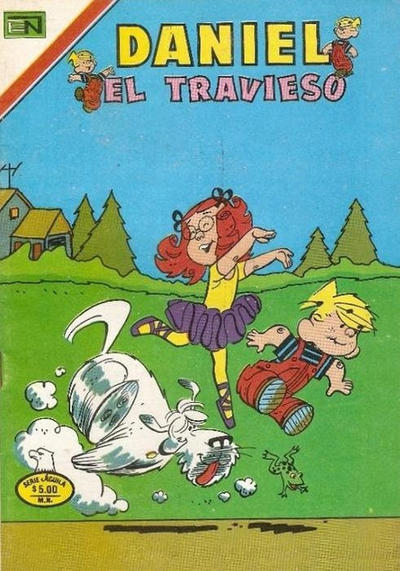 Cover for Daniel el Travieso (Editorial Novaro, 1964 series) #327