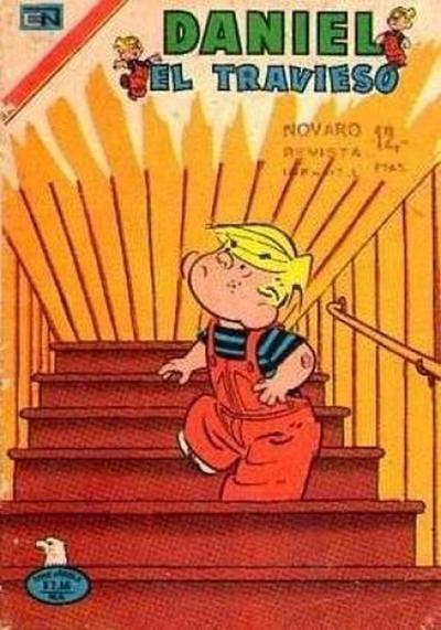 Cover for Daniel el Travieso (Editorial Novaro, 1964 series) #194