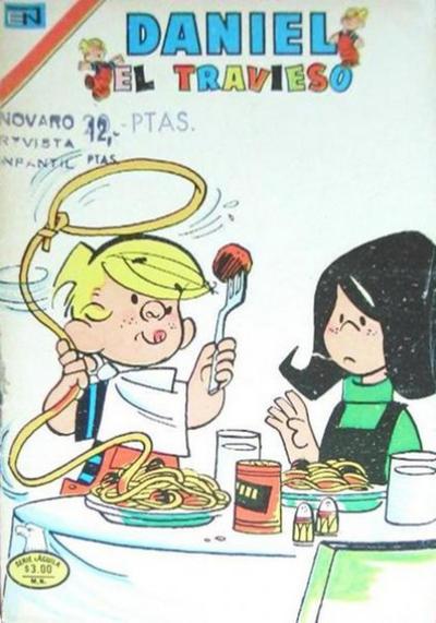 Cover for Daniel el Travieso (Editorial Novaro, 1964 series) #206