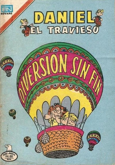 Cover for Daniel el Travieso (Editorial Novaro, 1964 series) #280