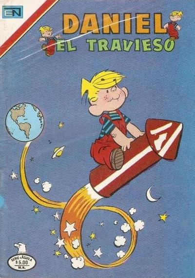Cover for Daniel el Travieso (Editorial Novaro, 1964 series) #306