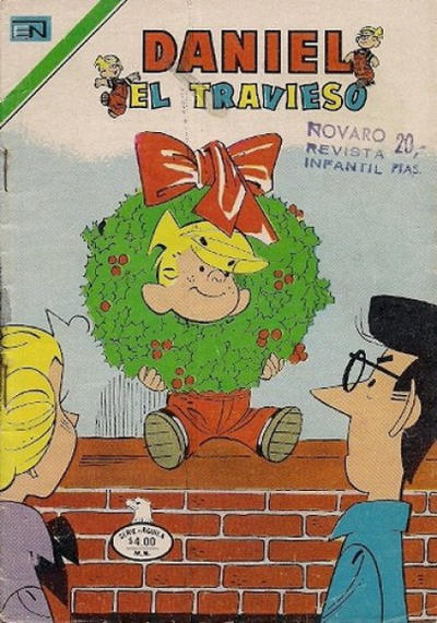 Cover for Daniel el Travieso (Editorial Novaro, 1964 series) #251
