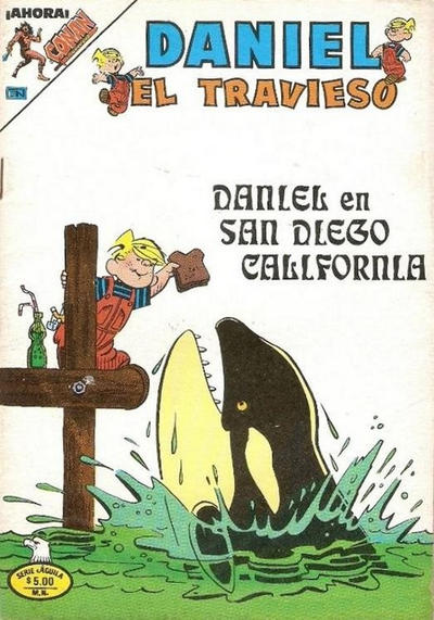 Cover for Daniel el Travieso (Editorial Novaro, 1964 series) #301