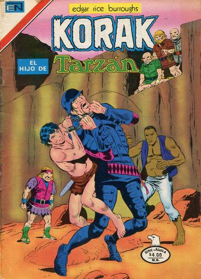 Cover for Korak (Editorial Novaro, 1972 series) #76