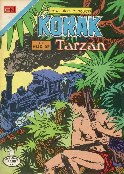 Cover for Korak (Editorial Novaro, 1972 series) #78