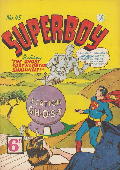 Cover for Superboy (K. G. Murray, 1949 series) #45 [6D]