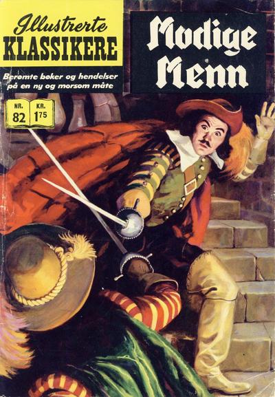 Cover for Illustrerte Klassikere [Classics Illustrated] (Illustrerte Klassikere / Williams Forlag, 1957 series) #82 - Modige menn [2. opplag]
