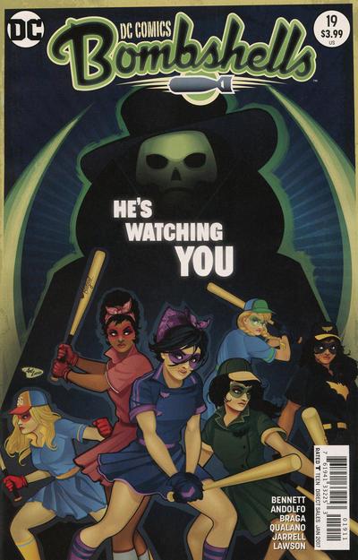 Cover for DC Comics: Bombshells (DC, 2015 series) #19