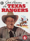 Cover for Jace Pearson of the Texas Rangers (World Distributors, 1953 series) #1