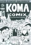 Cover for Koma Comix (Weissblech Comics, 1993 series) #20 [Schwarz-Weiss-Nachdruck]