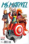 Cover Thumbnail for Ms. Marvel (2016 series) #2 [Incentive Takeshi Miyazawa Variant]
