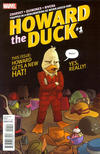 Cover for Howard the Duck (Marvel, 2016 series) #1 [Variant Edition - Joe Quinones Cover]