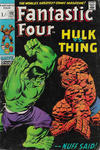 Cover for Fantastic Four (Marvel, 1961 series) #112 [British Price Variant]