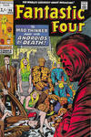 Cover Thumbnail for Fantastic Four (1961 series) #96 [British Price Variant]