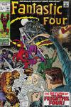 Cover for Fantastic Four (Marvel, 1961 series) #94 [British Price Variant]