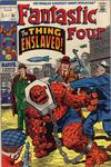 Cover for Fantastic Four (Marvel, 1961 series) #91 [British Price Variant]