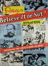 Cover for Ripley's Believe It or Not Annual (World Distributors, 1974 ? series) #1974
