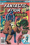 Cover for Fantastic Four (Marvel, 1961 series) #174 [British Price Variant]