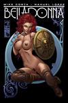 Cover Thumbnail for Belladonna (2015 series) #2 [Shield Maiden Nude - Matt Martin]