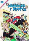 Cover for Lorenzo y Pepita (Editorial Novaro, 1954 series) #251