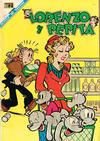 Cover for Lorenzo y Pepita (Editorial Novaro, 1954 series) #271