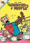 Cover for Lorenzo y Pepita (Editorial Novaro, 1954 series) #288