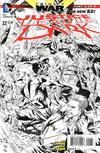 Cover for Justice League Dark (DC, 2011 series) #22 [Ivan Reis / Joe Prado Black & White Cover]