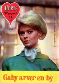 Cover Thumbnail for Hjerterevyen (Serieforlaget / Se-Bladene / Stabenfeldt, 1960 series) #14/1963