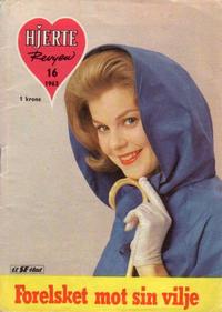Cover Thumbnail for Hjerterevyen (Serieforlaget / Se-Bladene / Stabenfeldt, 1960 series) #16/1963