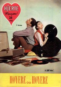 Cover Thumbnail for Hjerterevyen (Serieforlaget / Se-Bladene / Stabenfeldt, 1960 series) #26/1963