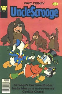 Cover Thumbnail for Uncle Scrooge (Western, 1963 series) #170 [Whitman]