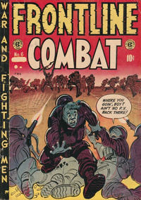 Cover Thumbnail for Frontline Combat (Superior Publishers Limited, 1951 series) #6
