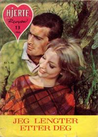 Cover Thumbnail for Hjerterevyen (Serieforlaget / Se-Bladene / Stabenfeldt, 1960 series) #13/1966