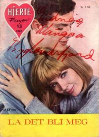Cover Thumbnail for Hjerterevyen (Serieforlaget / Se-Bladene / Stabenfeldt, 1960 series) #13/1967