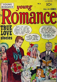 Cover Thumbnail for Young Romance (Derby Publishing, 1948 series) #6