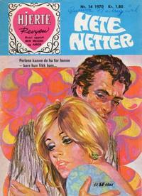 Cover Thumbnail for Hjerterevyen (Serieforlaget / Se-Bladene / Stabenfeldt, 1960 series) #14/1970