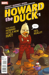 Cover Thumbnail for Howard the Duck (Marvel, 2016 series) #1 [Variant Edition - Joe Quinones Cover]