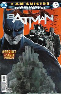 Cover Thumbnail for Batman (DC, 2016 series) #10