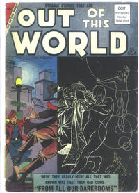 Cover Thumbnail for Out of This World (Robin Snyder and Steve Ditko, 2015 series) #20