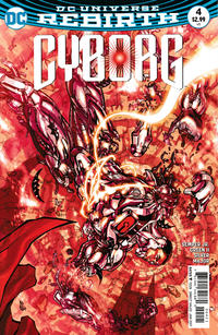 Cover Thumbnail for Cyborg (DC, 2016 series) #4 [Carlos D'Anda Variant Cover]
