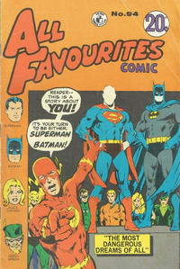 Cover Thumbnail for All Favourites Comic (K. G. Murray, 1960 series) #94