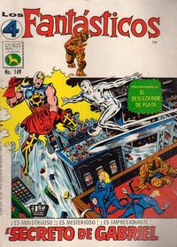 Cover Thumbnail for Los 4 Fantásticos (Editora de Periódicos La Prensa S.C.L., 1962 series) #149