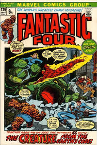 Cover for Fantastic Four (Marvel, 1961 series) #126 [Regular Edition]