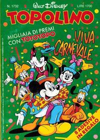 Cover Thumbnail for Topolino (Disney Italia, 1988 series) #1732