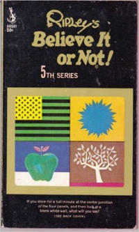 Cover Thumbnail for Ripley's Believe It or Not! (Pocket Books, 1941 series) #5 [50591 edition]