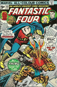 Cover Thumbnail for Fantastic Four (Marvel, 1961 series) #165 [British]