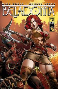 Cover Thumbnail for Belladonna (Avatar Press, 2015 series) #2 [Regular Cover - Nahuel Lopez]
