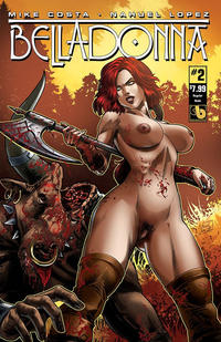 Cover Thumbnail for Belladonna (Avatar Press, 2015 series) #2 [Nude - Nahuel Lopez]