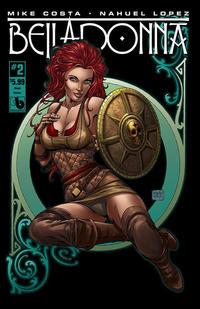Cover Thumbnail for Belladonna (Avatar Press, 2015 series) #2 [Shield Maiden Cover - Matt Martin]
